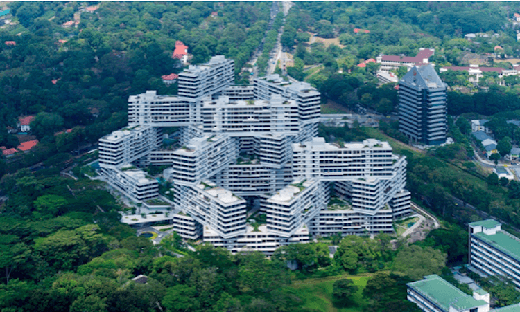 THE INTERLACE, SINGAPOUR, 2013